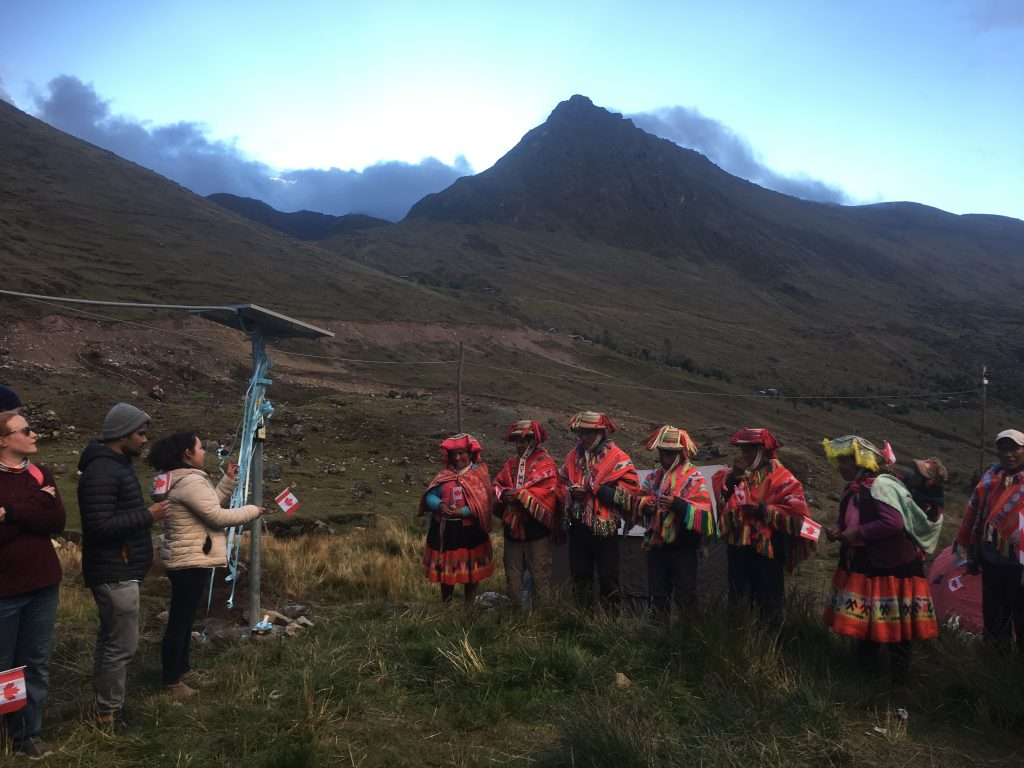 Canadian charity provides energy to off-grid communities in the Peruvian Andes
